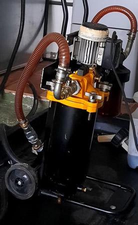 maquina limpieza depositos gasoleo
